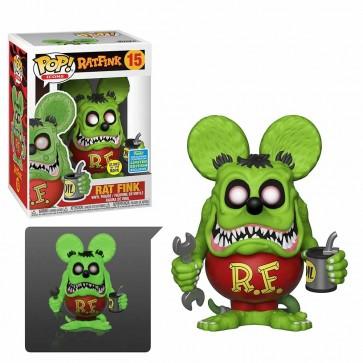 Rat Fink - Rat Fink Glow Pop! Vinyl SDCC 2019