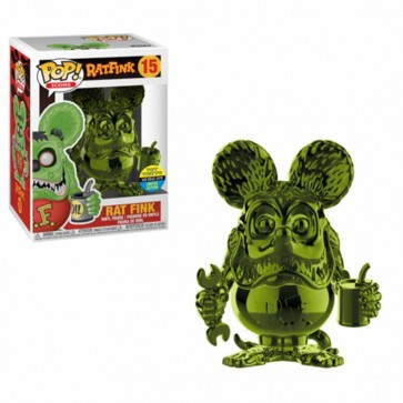 Ratfink - Ratfink Green Chrome Pop! Vinyl SDCC 2019