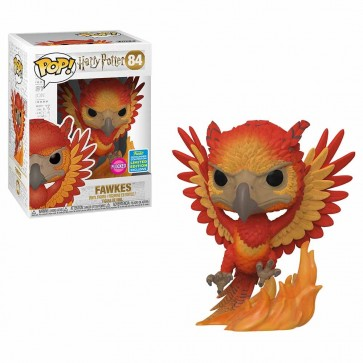Harry Potter - Fawkes Flocked Pop! Vinyl SDCC 2019