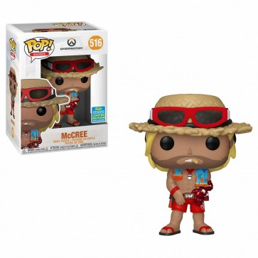 Overwatch - McCree Summer Skin Pop! Vinyl SDCC 2019