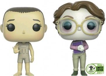 Stranger Things - Eleven & Barb ECCC 2017 US Exclusive Pop! Vinyl 2-pack