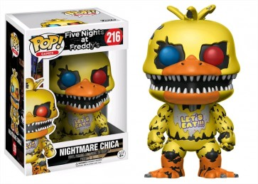 Five Nights at Freddy's - Nightmare Chica Pop! Vinyl