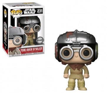 Star Wars - Young Anakin Skywalker Podracer US Exclusive Pop! Vinyl