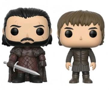 Game of Thrones - Jon & Bran US Exclusive Pop! Vinyl 2-Pack