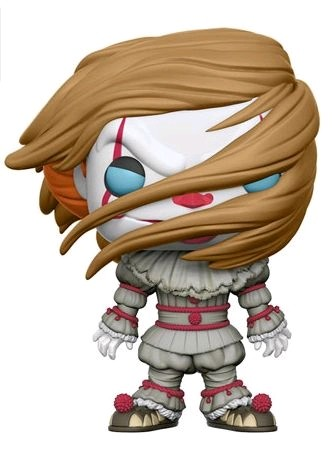 It (2017) - Pennywise with Wig US Exclusive Pop! Vinyl