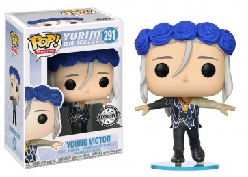 Yuri!!! on Ice - Young Victor Flower Crown US Exclusive Pop! Vinyl