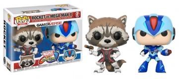 Marvel vs Capcom: Infinite - Rocket vs Mega Man X Pop! Vinyl 2-pack