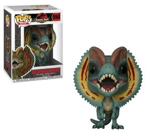 Jurassic Park - Dilophosaurus Pop! Vinyl