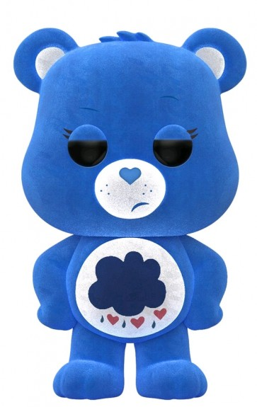 Care Bears - Grumpy Bear Flocked US Exclusive Pop!