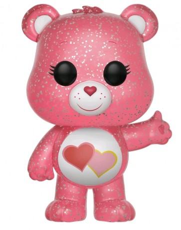 Care Bears - Love-A-Lot Bear Glitter US Exclusive Pop! Vinyl