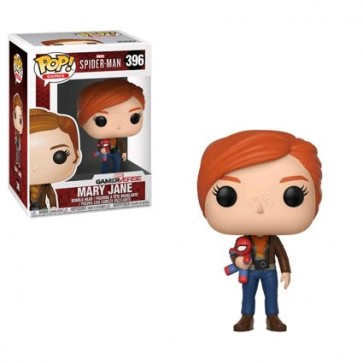 Spider-Man (Video Game 2018) - Mary Jane with Plush Pop! Vinyl