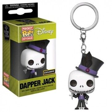 The Nightmare Before Christmas - Jack Dapper US Exclusive Pocket Pop! Keychain