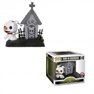 The Nightmare Before Christmas - Zero in doghouse Movie Moment Pop! Vinyl