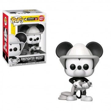 Mickey Mouse - 90th Firefighter Mickey Pop! Vinyl