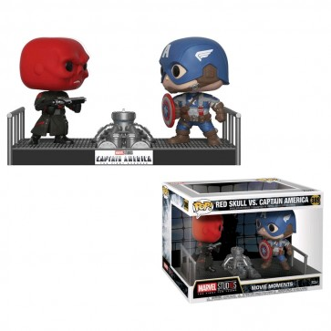 Captain America - Capt America & Red Skull Movie Moment Pop! Vinyl