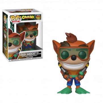 Crash Bandicoot - Crash with Scuba Gear Pop! Vinyl