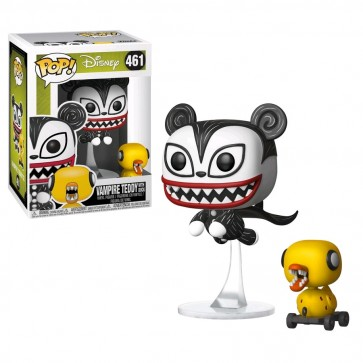 The Nightmare Before Christmas - Vampire Teddy w/Undead Duck Pop! Vinyl
