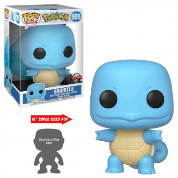 "Pokemon - Squirtle 10"" US Exclusive Pop! Vinyl"