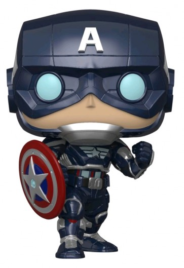 Avengers (Video Game 2020) - Captain America Glow US Exclusive Pop! Vinyl