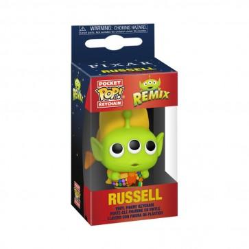 Pixar - Alien Remix Russell Pocket Pop! Keychain