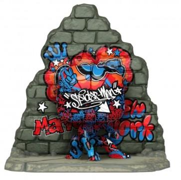 SpiderMan - Graffiti Deco US Exclusive Pop! Deluxe