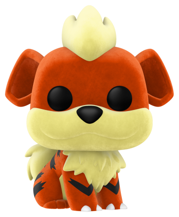 Pokemon - Growlithe Flocked Pop! Vinyl NYCC 2020