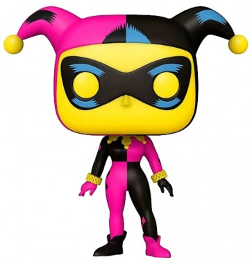 Batman The Animated Series - Harley Quinn Blacklight US Exclusive Pop! Vinyl