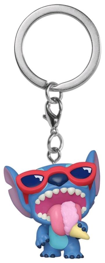 Lilo & Stitch - Stitch Summer Sented US Exclusive Pocket Pop! Keychain