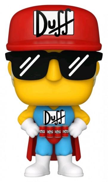 The Simpsons - Duffman Pop! Vinyl