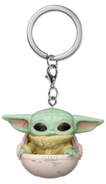 Star Wars: The Mandalorian - The Child in Hover Pram Pocket Pop! Keychain