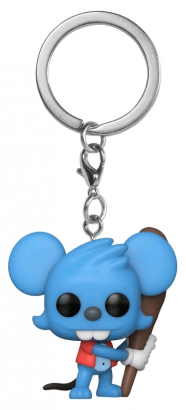 The Simpsons - Itchy Pocket Pop! Keychain