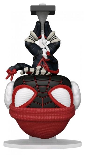 Marvel's Spider-Man: Miles Morales - Winter Suit Hanging US Exclusive Pop! Vinyl