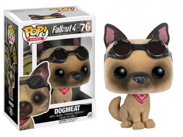 Fallout 4 - Dogmeat Flocked EB Games Exclusive Pop! Vinyl Figure
