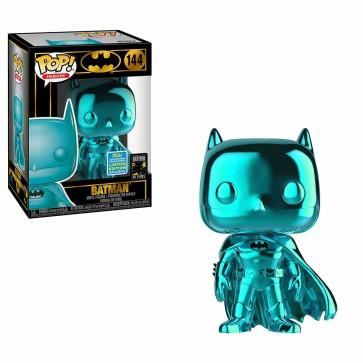 Batman - Batman Teal Chome Pop! Vinyl SDCC 2019