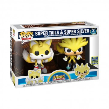 Sonic - Super Tails & Silver Pop! Vinyl 2 pack SDCC 2020