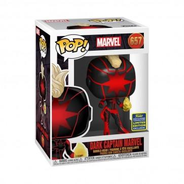 Captain Marvel - Dark Captain Marvel Pop! Vinyl SDCC 2020