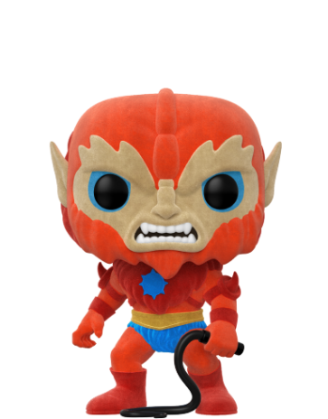 Masters of the Universe - Beast Man Flocked Pop! Vinyl NYCC 2017