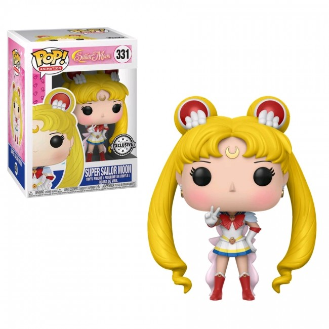 Sailor Moon Super Sailor Moon Us Exclusive Pop Vinyl