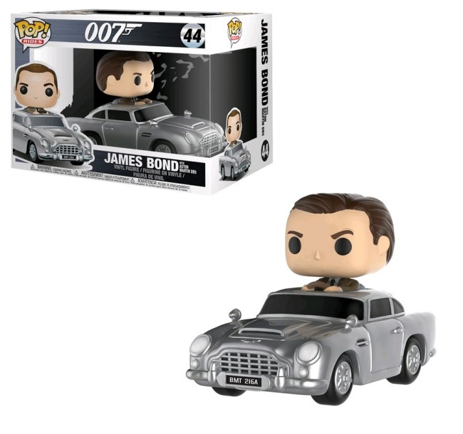 James bond sean connery with aston martin db5 pop ride for 97 the terrace ocean grove