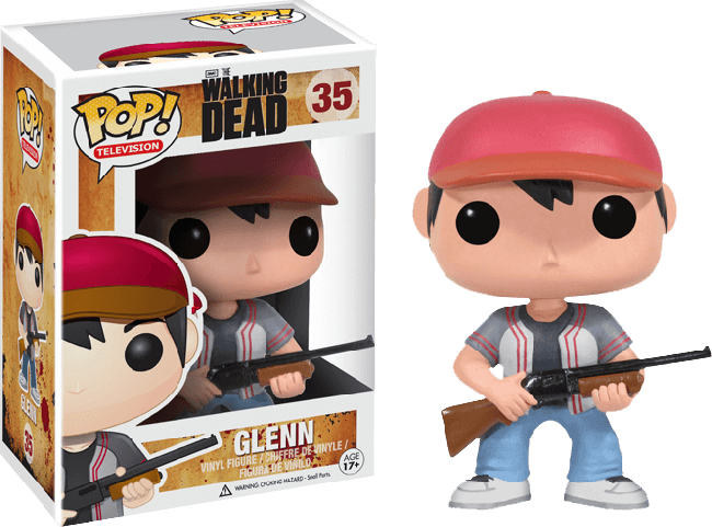 The Walking Dead Glenn Pop Vinyl Figure Pop Vinyls