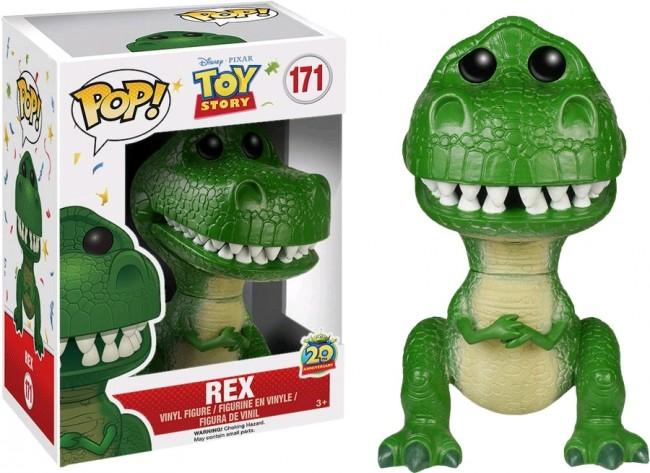 Toy Story Rex Pop Vinyl Figure Pop Vinyls In Australia