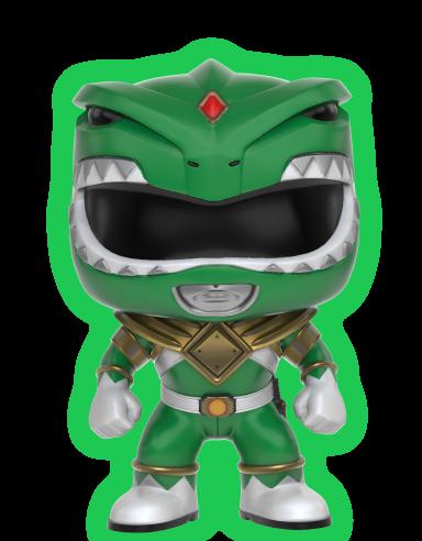 Power Rangers - Green Ranger GID Pop! Vinyl NYCC 2017