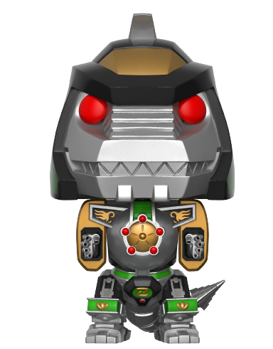 Power Rangers - Green Dragonzord 6