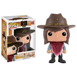 The Walking Dead - Carl Grimes (poncho) Pop! Vinyl Figure
