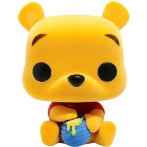 Winnie the Pooh - Seated Pooh Flocked Pop! Vinyl