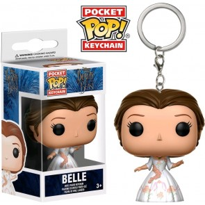Beauty and The Beast (2017) - Belle Celebration Pocket Pop! Keychain