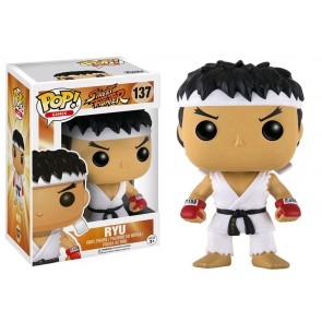 Street Fighter - Ryu White Headband Pop! Vinyl