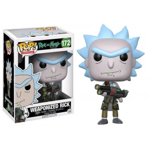 Rick & Morty - Rick Weaponized Pop! Vinyl