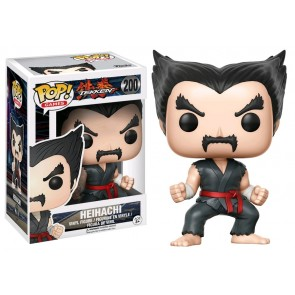 Tekken - Heihachi (Black&Red Judo) US Exclusive Pop! Vinyl