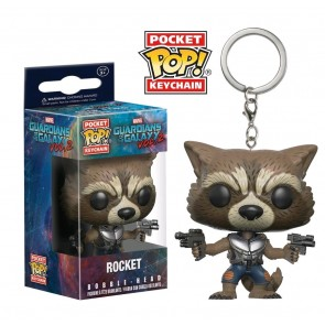 Guardians of the Galaxy: Vol. 2 - Rocket Pocket Pop! Keychain
